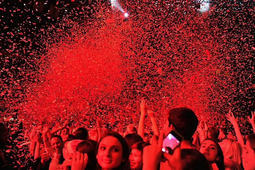 A general view of atmosphere at Z100's Jingle Ball 2012, presented by Aeropostale, at Madison Square