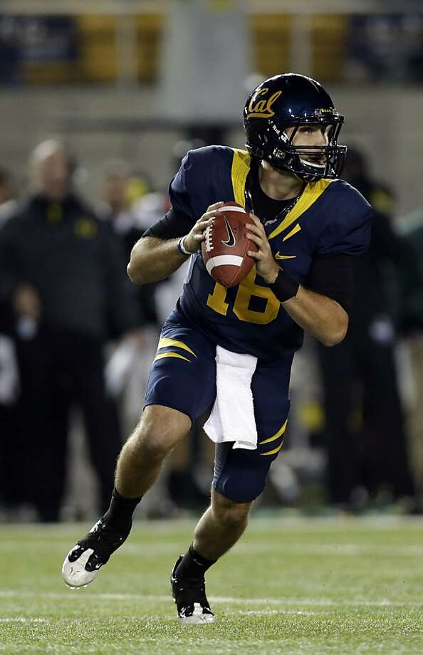 Allan Bridgford hopes to be in the starting quarterback mix in Sonny Dykes' first season. Photo: Marcio Jose Sanchez, Associated Press