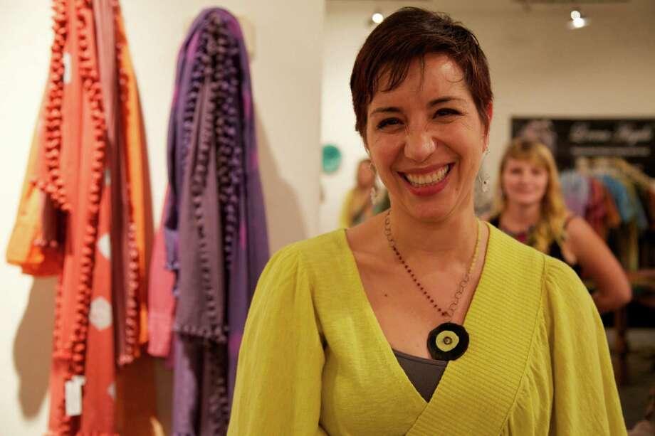 Mockingbird Holiday Market at the Blue Star Arts Complex on Friday, Dec. 7, 2012. Photo: Xelina Flores-Chasnoff, MySA.com