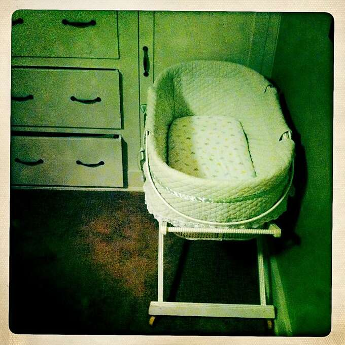 Quinn soon outgrew his bassinet, and though Craig and I were happy to have our room back to ourselves again, it felt empty when the little guy moved to his crib. Though it was a sense of accomplishment, as well. Photo: Jamie Cotten