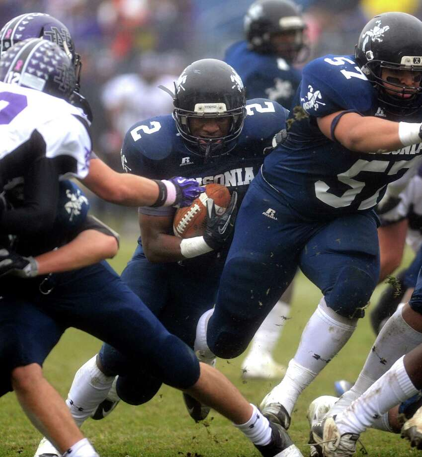 Scenes from the first half of the Class S state football championship game between Ansonia and North Branford High Schools Saturday, Dec. 8, 2012 at Rentschler Field in East Hartford, Conn. Photo: Autumn Driscoll / Connecticut Post