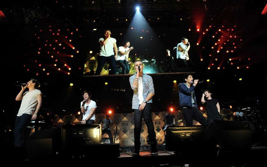 One Direction perform at Z100's Jingle Ball 2012 presented by Aeropostale at Madison Square Garden on Friday Dec. 7, 2012 in New York. (Photo by Evan Agostini/Invision/AP) Photo: Evan Agostini, Associated Press / Associated Press