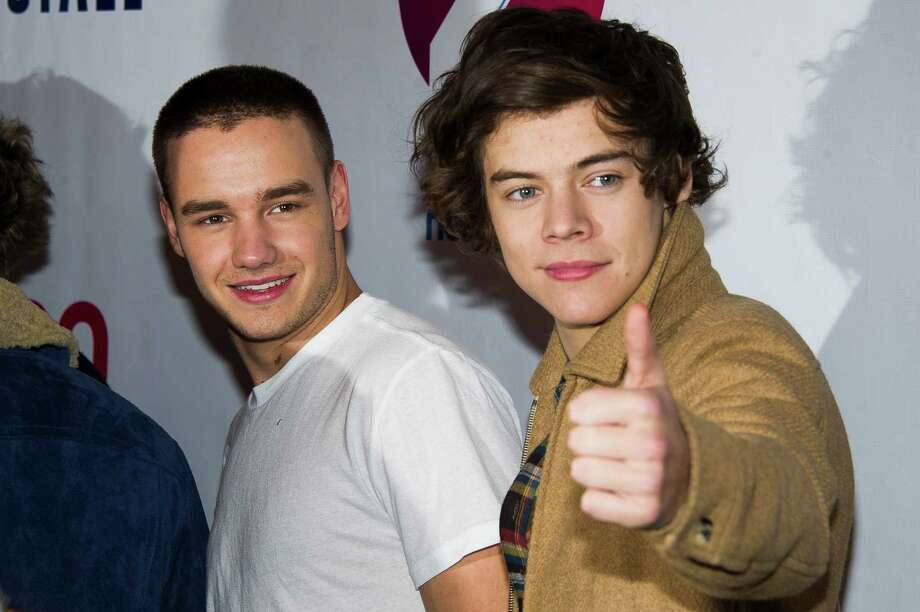 Liam Payne, left, and Harry Styles from the group One Direction attend Z100's Jingle Ball on Friday, Dec. 7, 2012 in New York. (Photo by Charles Sykes/Invision/AP) Photo: Charles Sykes, Associated Press / Associated Press