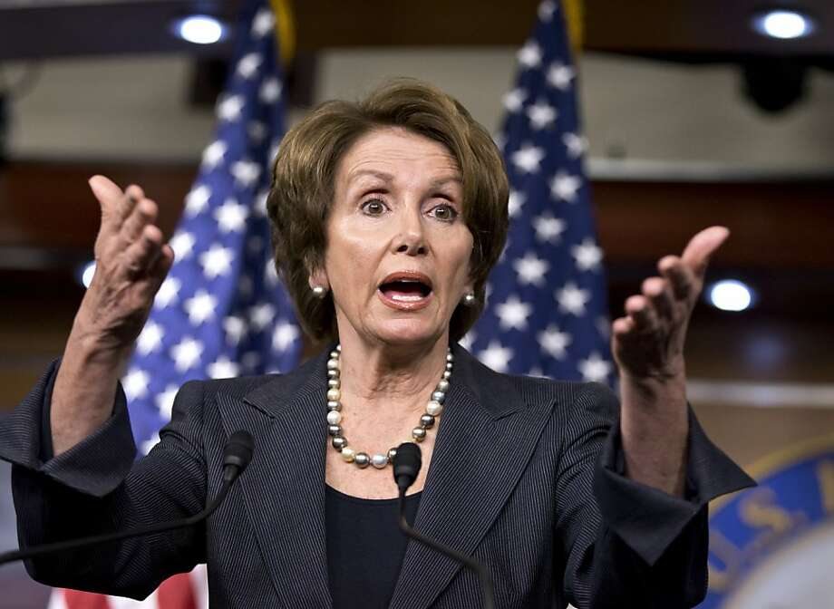 House Minority Leader Nancy Pelosi and fellow Democrats want tax hikes for the wealthy. Photo: J. Scott Applewhite, Associated Press