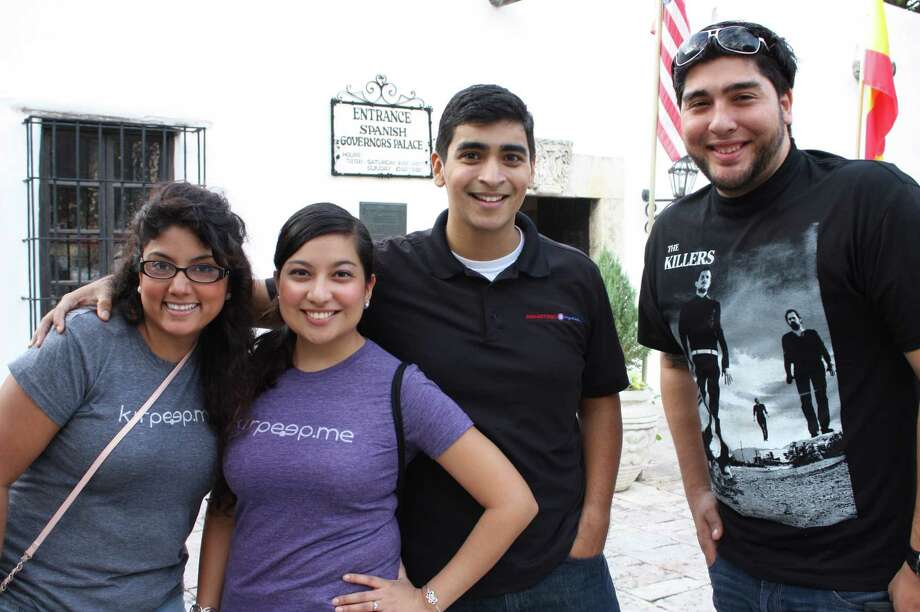 """For a few hours, West Commerce becomes a """"Better Block"""" on Saturday, Dec. 8, 2012. Photo: Libby Castillo, MySA.com"""