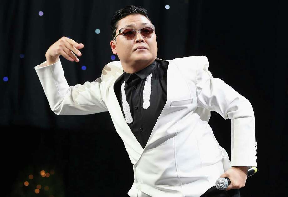 "While PSY is hugely popular for ""Gangnam Style,"" he likely won't be singing anti-U.S. lyrics anytime soon. He has apologized for songs he did long ago. Photo: Christopher Polk / 2012 Getty Images"