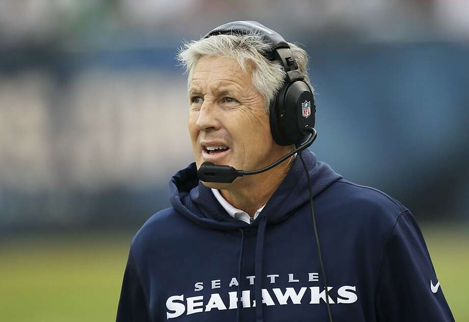 One hot rumor had Seahawks coach Pete Carroll going to Cal. Photo: Charles Rex Arbogast, Associated Press