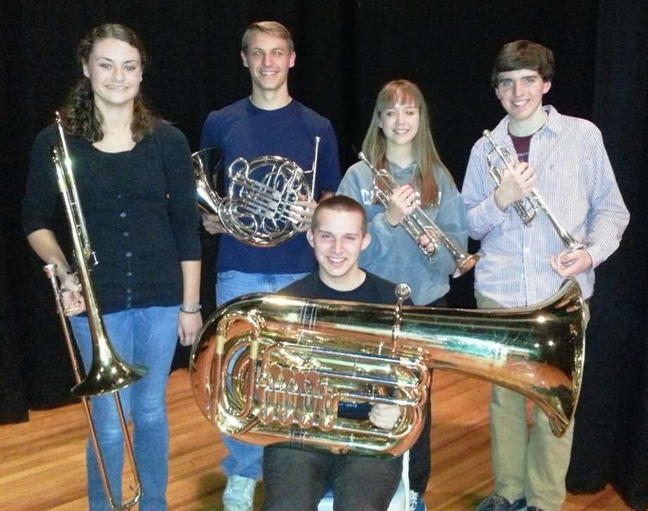 The brass quintet from Empire State Youth Orchestra will perform a holiday concert for passengers boarding The Polar Express at the Saratoga Springs Train Station at 5 p.m. Monday, Dec. 10. (Caitlin Merrill)