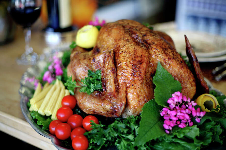 Cooper's Meat Market, 6002 Broadway, 210-820-3838, will have fully prepared holiday meals that include a 13-pound roasted, fried or smoked turkey with cornbread dressing and gravy. Turkeys come with two large sides, cranberries, rolls and choice of pie. All items will also be individually sold. Call or stop by to place your order. CoopersMeatMarket.com Photo: San Antonio Express-News File Photo / sdulai@express-news.net