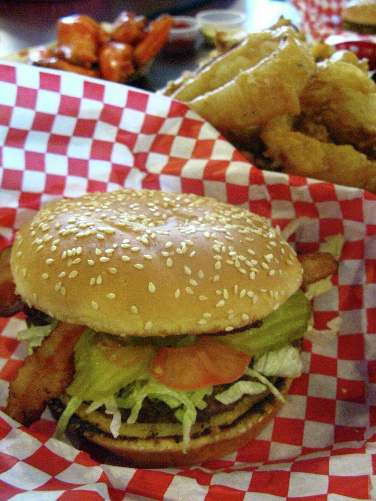 Big Bobs Burgers, 447 W. Hildebrand Ave., 210-734-2627, is smoking 15-pound turkeys for Christmas that will feed four to six and are available for pick up. Turkeys are fully cooked and can be reheated in 1½ hours, $39.95. bigbobsburgers.com