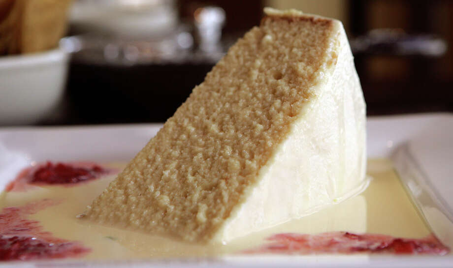 Aldaco's Stone Oak, 20079 Stone Oak Parkway, 210-494-0561, is preparing its Frangelico and roasted almond tres leches cake. $42.95. Call to order. aldacos-stoneoak.com Photo: San Antonio Express-News File Photo / KGEIL@EXPRESS-NEWS.NET