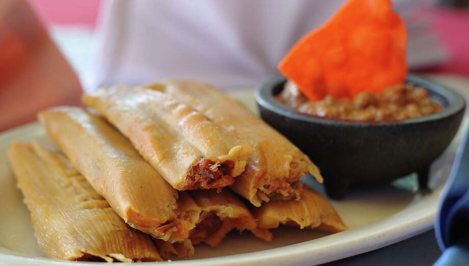 Jacala Mexican Restaurant, 606 West Avenue, 210-732-5222, will be open 11 a.m.-8 p.m. on Christmas Eve. Family-style dinner packages are available with either enchiladas or beef or chicken fajitas. Tamales (pork or chicken tomatillo) are available now and must be ordered in advance. Delivery service is available at 210-447-3777. Photo: Kin Man Hui, San Antonio Express-News / kmhui@express-news.net