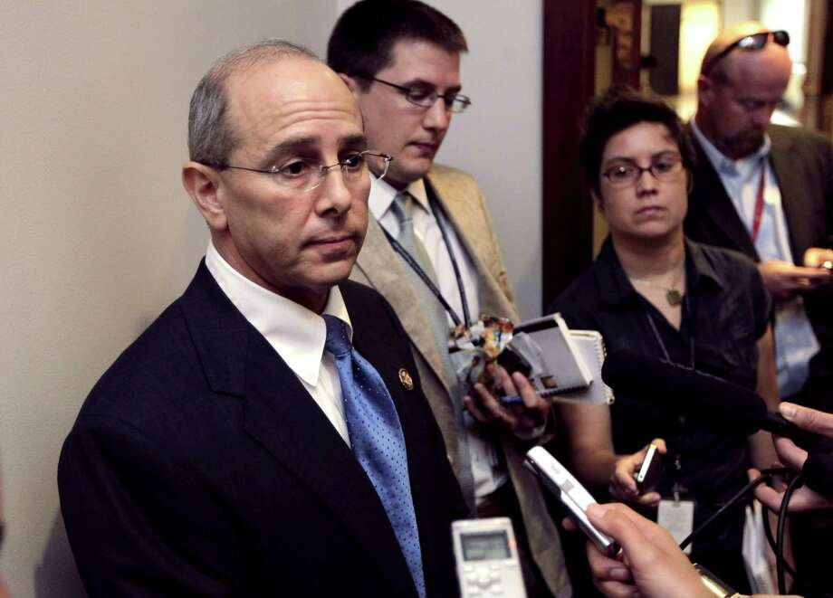 FILE - In this July 21, 2011 file photo House Ways and Means Oversight subcommittee Chairman Rep. Charles Boustany, R-La., speaks on Capitol Hill in Washington.  It was a curious offer to contractors from a government agency: We'll give you a tax deduction for making federal buildings more energy efficient if you qualify and if you'll write us a check for 19 percent of the tax break's value.The General Services Administration (GSA), already under a cloud for a lavish Las Vegas employee conference, says that after seven months, it dropped its demand for the giveback requirement because there were no takers.  (AP Photo/J. Scott Applewhite, File) Photo: J. Scott Applewhite, STF / AP
