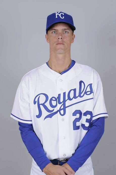 SURPRISE, AZ - FEBRUARY 26:  Zach Greinke of the Kansas City Royals poses during Photo Day on Friday, February 26, 2010 at Surprise Stadium in Surprise, Arizona.  (Photo by Ron Vesely/MLB Photos via Getty Images) *** Local Caption *** Zach Greinke Photo: Ron Vesely, Stringer / 2010 MLB Photos