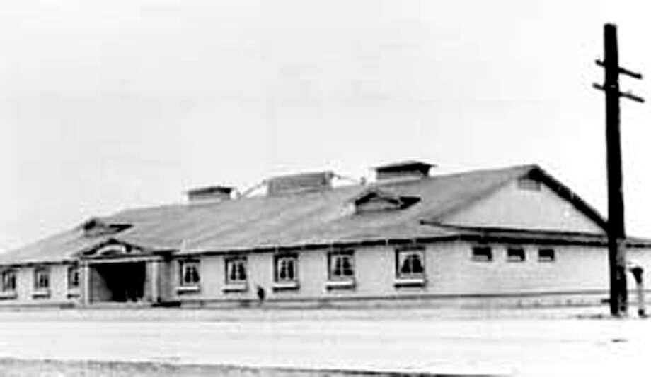 Parker's Ballroom, 1937. Photo: Seattle Municipal Archives/Historylink.org