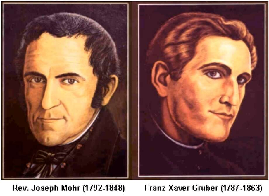 Joseph Mohr, a priest, wrote the lyrics--initially a poem. Franz Gruber, the local church organist and schoolteacher wrote the music.