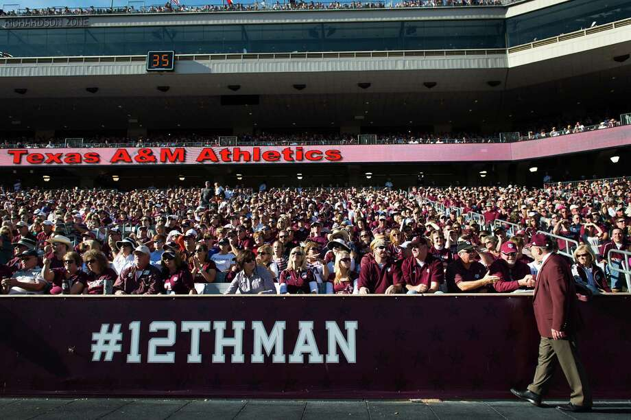 A&M plans to pay for the renovation through donations to  the 12th Man Foundation. Photo: Smiley N. Pool, Houston Chronicle / © 2012  Houston Chronicle