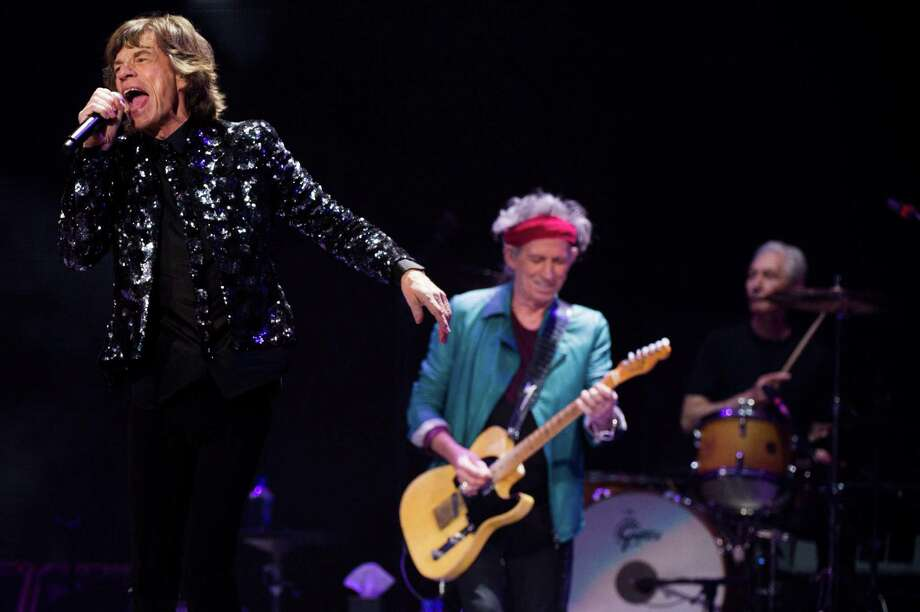 Mick Jagger, from left, Keith Richards and Charlie Watts of The Rolling Stones perform in concert on Saturday, Dec. 8, 2012 in New York. Photo: Charles Sykes, Charles Sykes/Invision/AP / Invision