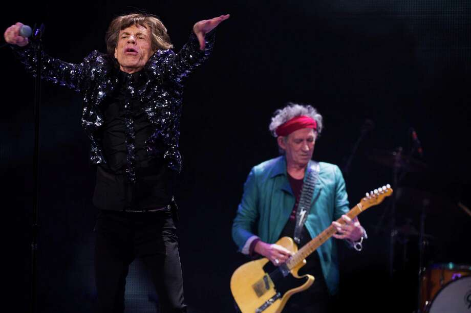 Mick Jagger, left, and Keith Richards of The Rolling Stones perform in concert on Saturday, Dec. 8, 2012 in New York. Photo: Charles Sykes, Charles Sykes/Invision/AP / Invision