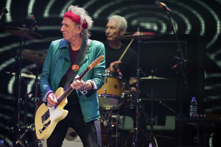 Keith Richards, left, and Charlie Watts of The Rolling Stones perform in concert on Saturday, Dec. 8, 2012 in New York. Photo: Charles Sykes, Charles Sykes/Invision/AP / Invision