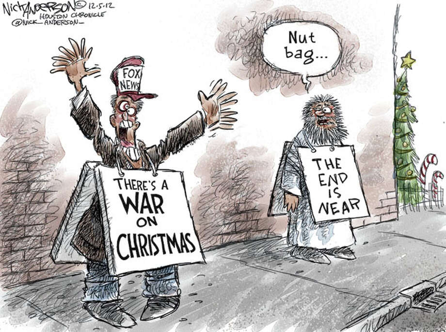 Happy Holidays  (Nick Anderson / Houston Chronicle)