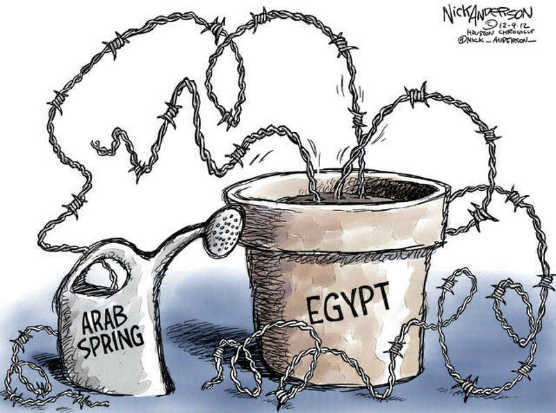 Arab Spring (Nick Anderson / Houston Chronicle)