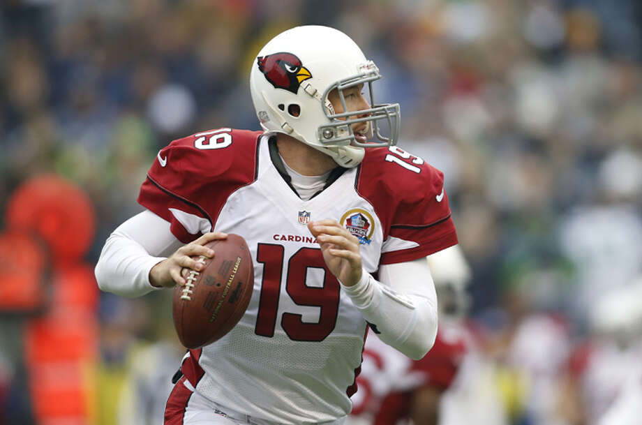 Arizona Cardinals quarterback John Skelton (19) passes against the Seattle Seahawks during the first quarter of an NFL football game in Seattle, Sunday, Dec. 9, 2012. Photo: AP