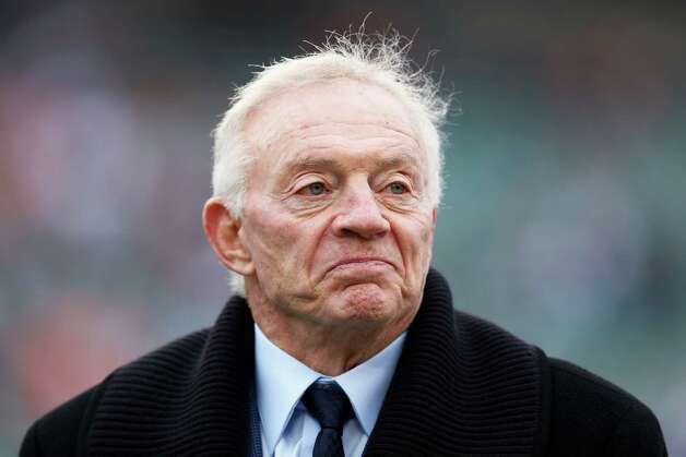 Dallas Cowboys owner Jerry Jones looks on before the game against the Cincinnati Bengals at Paul Brown Stadium on December 9, 2012 in Cincinnati, Ohio. Photo: Joe Robbins, Getty Images / 2012 Getty Images