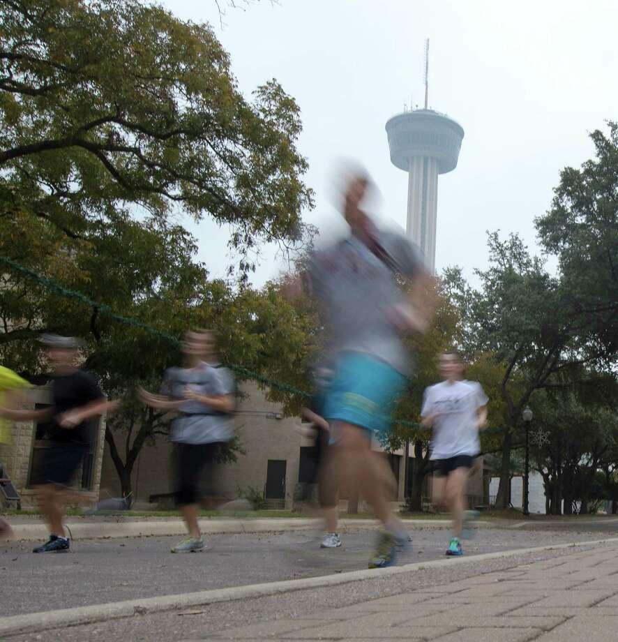Through July 28: River City Run - 5K Running Tour of San Antonio, www.rivercityrunsa.com Photo: Michael Miller, For The Express-News  / © San Antonio Express-News