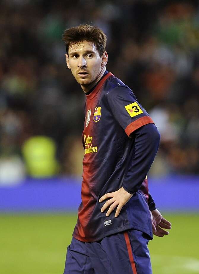 Lionel Messi Photo: Cristina Quicler, AFP/Getty Images