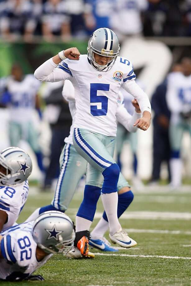 Dan Bailey's 40-yard field goal as time expired won the game for the Cowboys. Photo: John Grieshop, Getty Images