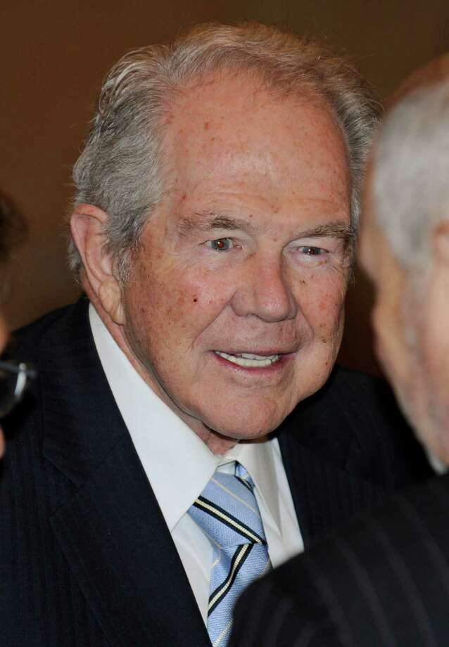 Christian Coalition founder Pat Robertson lent support to geologists. Photo: Clem Britt, AP / AP2010