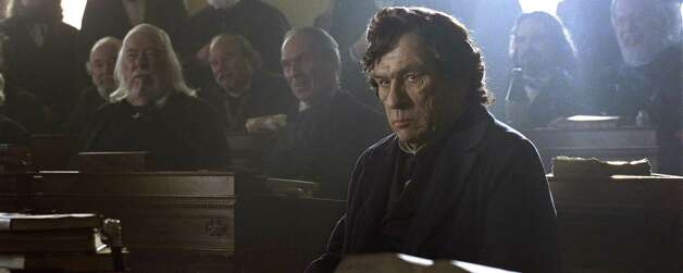 "Best supporting actor contender, Tommy Lee Jones in ""Lincoln"": The wear and tear of his mission is reflected in the actor's craggy face as he sinks into the role of abolitionist Thaddeus Stevens. All the accolades for the movie should enhance his chances for a nod. Photo: DreamWorks II / ©DreamWorks II Distribution Co., LLC.  All Rights Reserved."