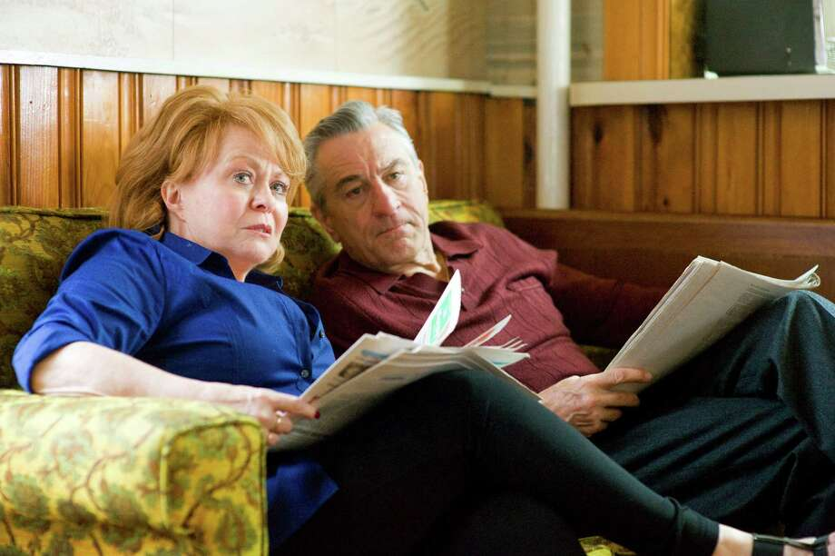 "Best supporting actress contender, Jackie Weaver in ""Silver Linings Playbook"": This Aussie actress is memorable as a loving mother to a disturbed Bradley Cooper. Scenes with Robert De Niro (right) look as if she was not in the slightest intimidated by him. Photo: JoJo Whilden, The Weinstein Company / The Weinstein Company"