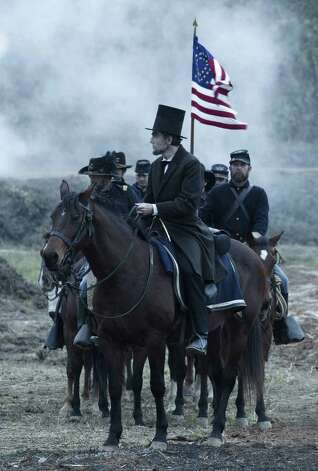 "Best picture contender, ""Lincoln"": The one to beat. Credit across the board, but especially to Tony Kushner, who captures the cadences of the nation's 16th president. Photo: David James, Disney-DreamWorks II / 20th Century Fox / DreamWorks, Twentieth Century Fo"