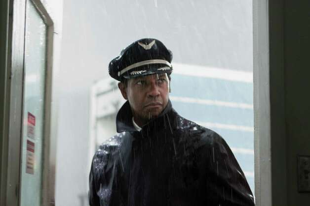 "Best picture contender, ""Flight"": A return to traditional filmmaking relying on story rather than special effects — but for that airplane crash. Photo: Paramount Pictures / Paramount Pictures"