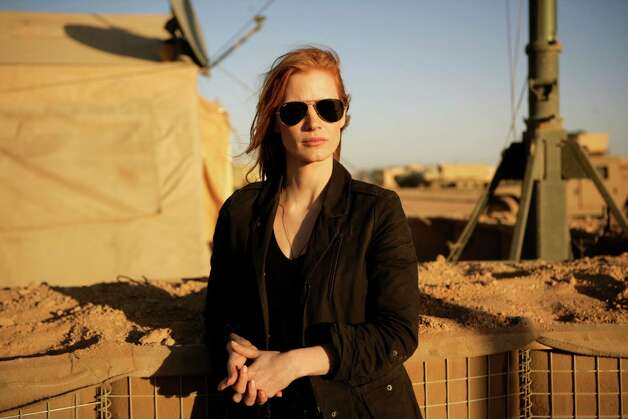"Jessica Chastain is brilliant in ""Zero Dark Thirty"" as a young CIA agent who figures out a way to track Osama bin Laden, despite institutional resistance from her supervisors. Photo: Jonathan Olley, Columbia Pictures / Columbia Pictures Industries, In"