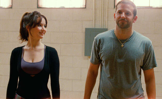 "Best actress contender, Jennifer Lawrence in ""Silver Linings Playbook"": Her performance as an emotionally bereft widow has caught Hollywood's attention. Photo: Lawrence and Bradley Cooper in a scene from ""Silver Linings Playbook.""