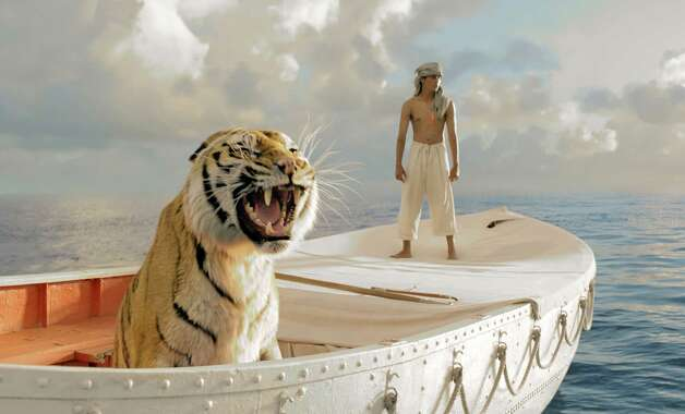 "Best picture contender, ""Life of Pi"": A so-called unfilmable novel becomes a visual feast under Ang Lee's direction. Photo: Suraj Sharma as Pi Patel in a scene from ""Life of Pi."" Photo: 20th Century Fox / 20th Century Fox"