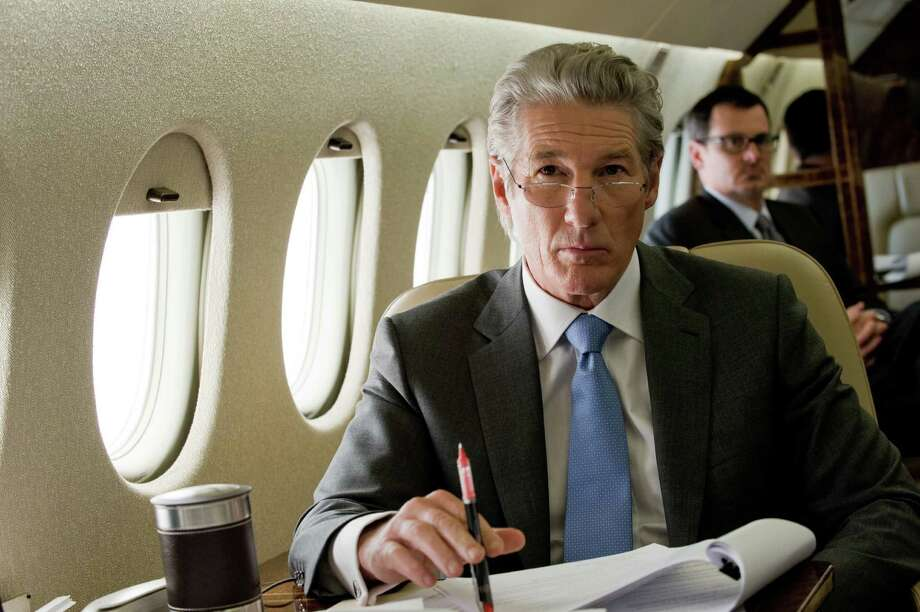 """And don't forget ... Best actor contender, Richard Gere in """"Arbitrage"""": A star for 35 years, he has yet to be nominated for an Oscar, although he has done Oscar-caliber work. His latest, as a Wall Street tycoon, may be his best performance. Photo: Myles Aronowitz, Roadside Attractions / Roadside Attractions"""