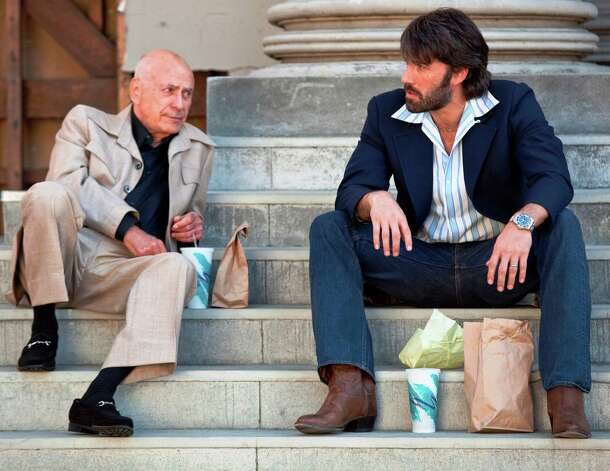 "BEST SUPPORTING ACTORBest supporting actor contender, Alan Arkin in ""Argo"": A notorious scene stealer (think ""Little Miss Sunshine''), he does it again as a savvy movie producer recruited by the CIA.   Photo: Arkin as Lester Siegel (left) and Ben Affleck as Tony Mendez in a scene from ""Argo."" Photo: Claire Folger, Warner Bros. / © 2012 Warner Bros. Entertainment Inc."
