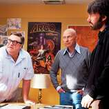 "And don't forget ... Best supporting actor contender, John Goodman in ""Argo"": Although Alan Arkin is getting most of the attention, his co-star gets the biggest laughs.    Photo: Goodman (from left) as John Chambers, Arkin as Lester Siegel and Ben Affleck as Tony Mendez in a scene from ""Argo."""