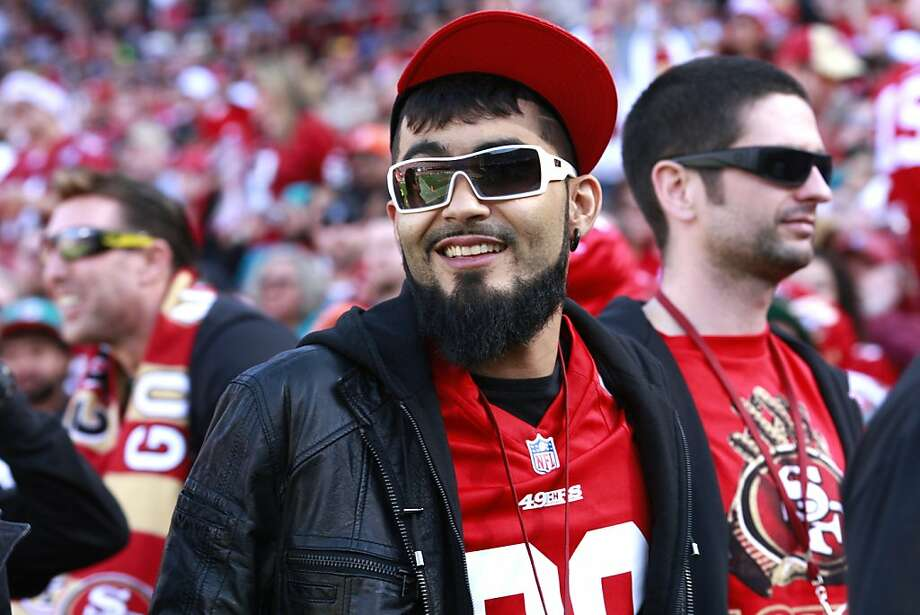 San Francisco Giants baseball player Sergio Romo at the San Francisco 49ers game against the Miami Dolphins at Candlestick Park in San Francisco, Calif., on Sunday December 9, 2012. Photo: Brant Ward, The Chronicle