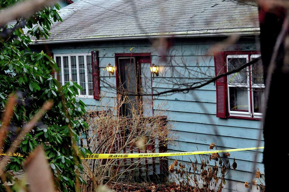 This is the house on Hilltop Drive in New Fairfield where Svetlana Bell was shot and killed Saturday night Dec. 8, 2012. Photographed Sunday, Dec. 9, 2012.