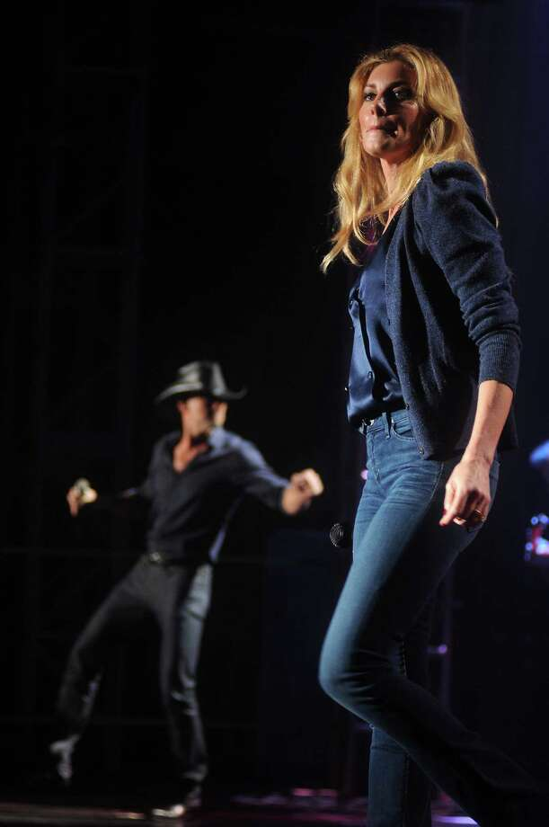 Tim McGraw and Faith Hill perform at the Lanier Christmas Party Sunday Dec. 09, 2012.(Dave Rossman/For the Chronicle) Photo: Dave Rossman, Freelance / © 2012 Dave Rossman