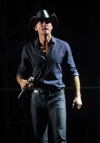 March 8 -- Tim McGraw Photo: Dave Rossman, Freelance / © 2012 Dave Rossman