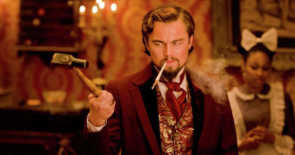 "Best supporting actor contender, Leonardo DiCaprio in ""Django Unchained"": Wh"
