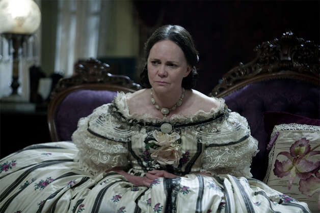 "Best supporting actress contender, Sally Field in ""Lincoln"": As the emotionally fragile Mary Lincoln, she reminds us why we really liked her back when she won her two Oscars. A strong contender in a pretty wobbly category. Photo: DreamWorks, 20th Century Fox"