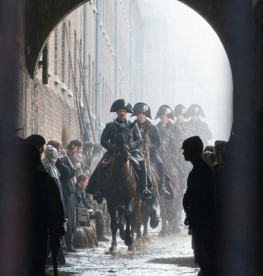 "Best picture contender, ""Les Misérables"": A blitz of private Academy screenings in advance of a Christmas opening increases the film's chances.Photo: Actor Russell Crowe as Javert in a scene from ""Les Misérables."" Photo: Laurie Sparham, Universal Pictures / Copyright: © 2012 Universal Studios. ALL RIGHTS RESERVED."