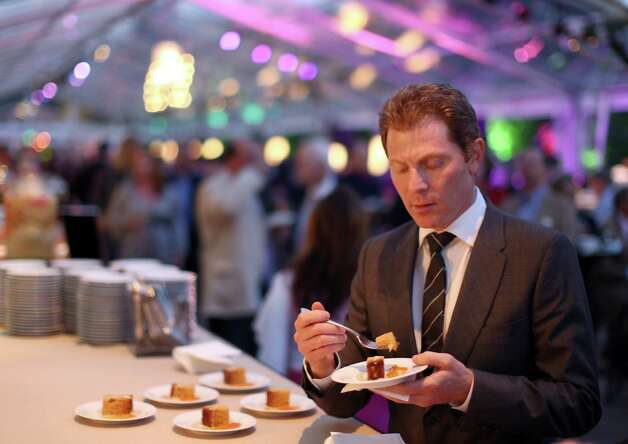 IMAGE DISTRIBUTED FOR BREEDER'S CUP - Chef Bobby Flay attends Breeders' Cup A Taste of the World at The Huntington on Friday, Nov. 2, 2012, in San Marino, Calif.  (Photo by Matt Sayles/Invision for Breeders' Cup/AP Images) Photo: Matt Sayles / Invision